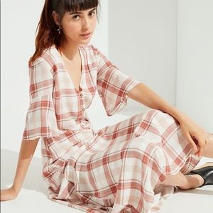 Urban Outfitters Plaid Maxi Dress